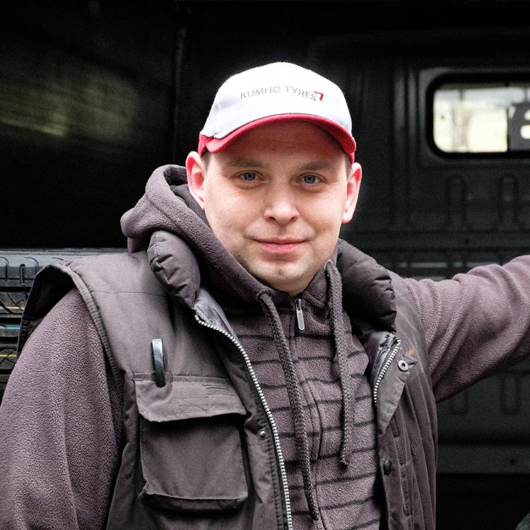 Riepu un disku sagādes vadītājs - Dainis