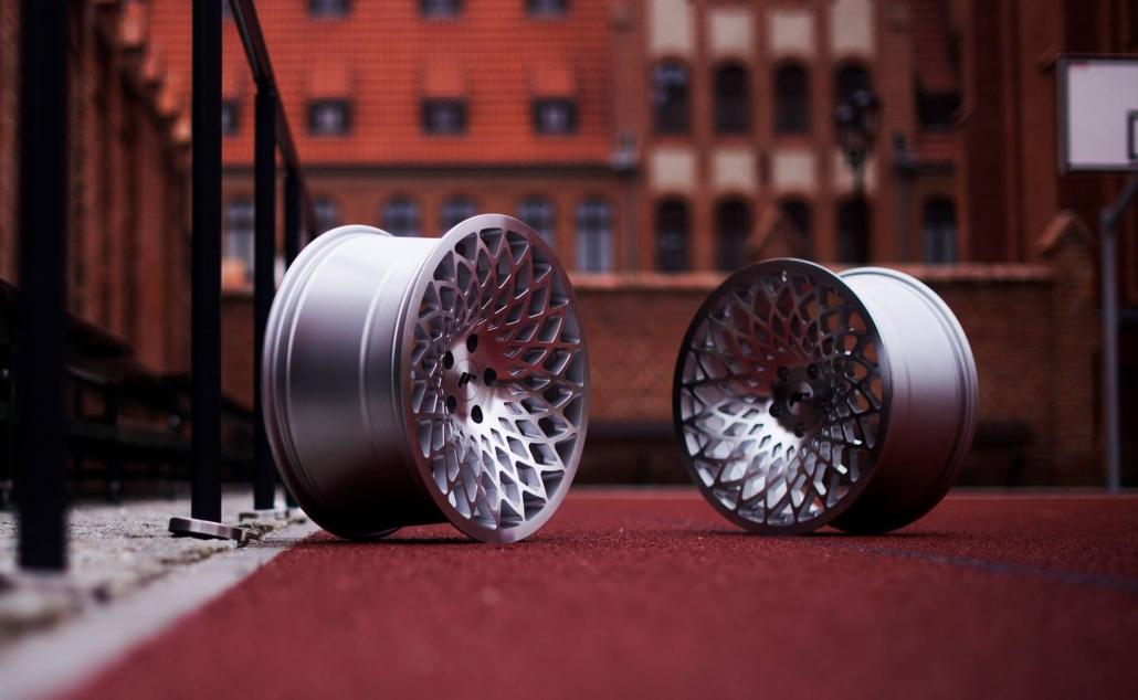 Jauni lietie vieglmetāla auto diski