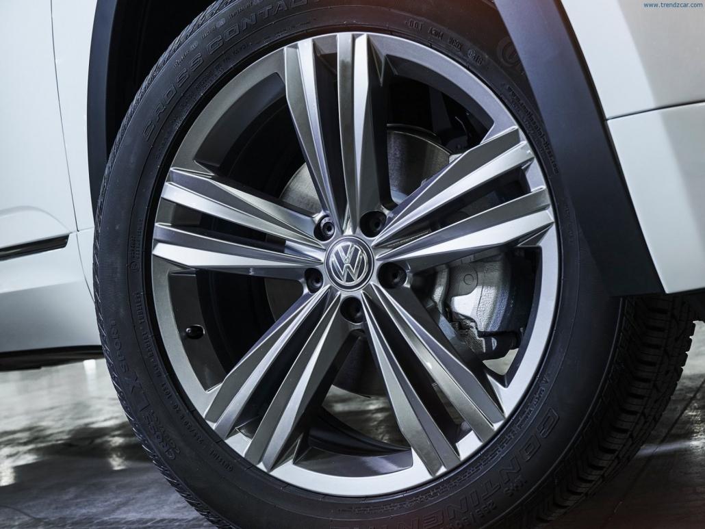 Volkswagen R-Line lietie vieglmetāla auto diski