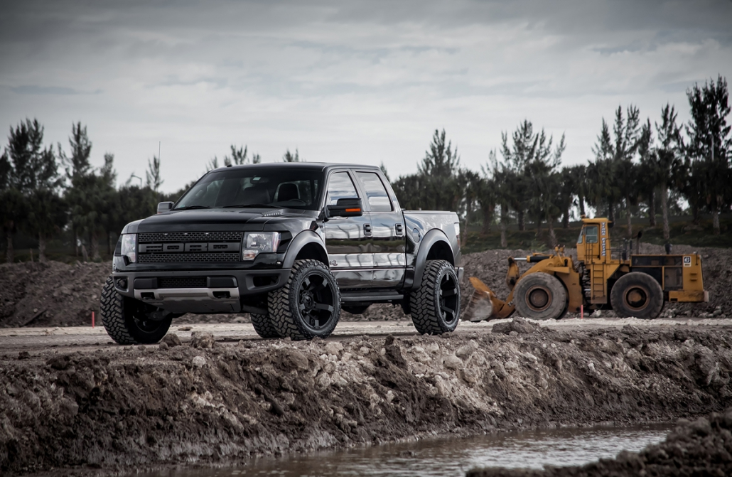 Jauni Ford SVT Raptor XD lietie vieglmetāla auto diski