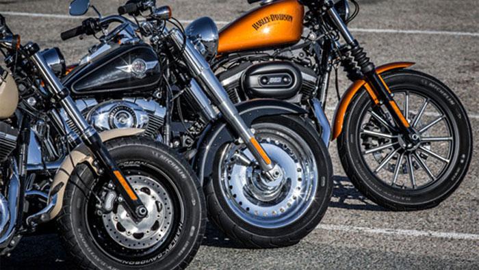 Choperu motociklu riepas
